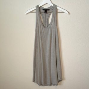 Victoria's Secret Gray Racerback Dress Coverup